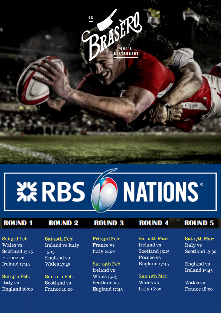 6 Nations starts this weekend!