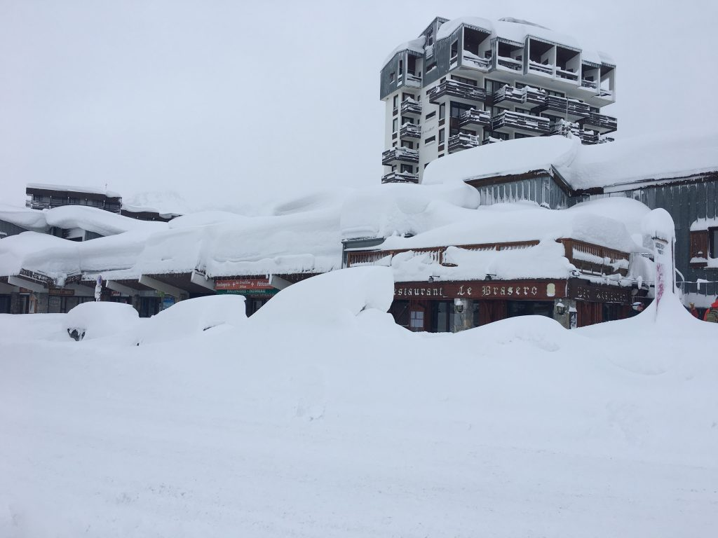 And the snow goes on…..