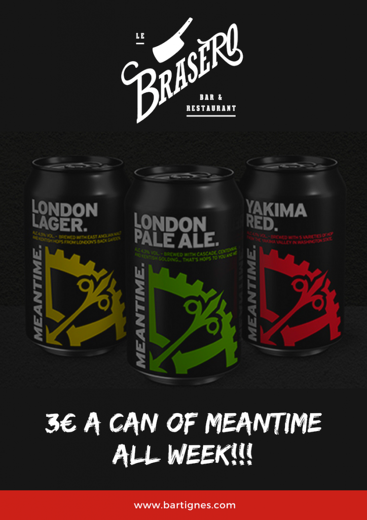 €3 Cans of Meantime - All Week